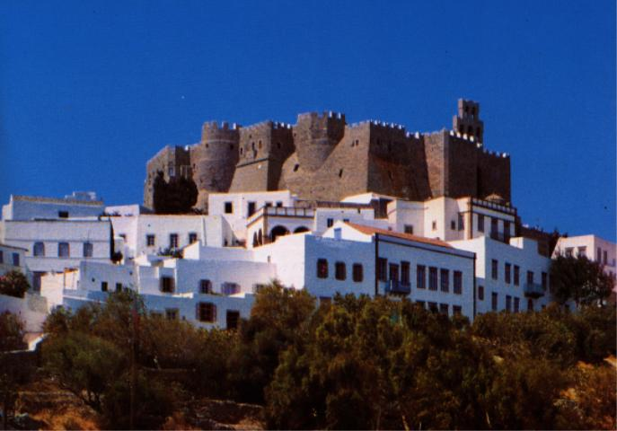 PATMOS PHOTO GALLERY - MONASTERY OF SAINT JOHN